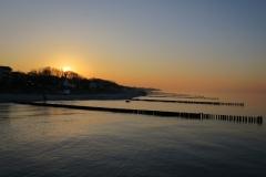 Sonnenuntergang über Kühlungsborn West