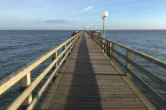 Die Seebrücke - Weg hinaus aufs Meer?