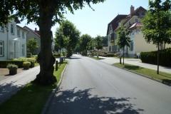 Strandstraße Richtung Villa Käthe
