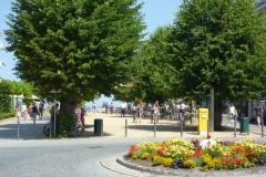 Strandstraße Richtung Seebrücke